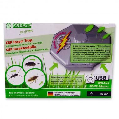 Capcana pentru interior cu lamele electrice anti insecte, gandaci, gandaci de canal CSP 77030