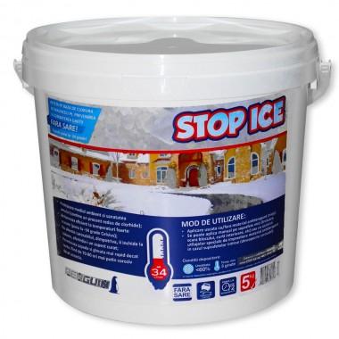 STOP ICE Produs biodegradabil combate si prevenire gheata 5kg