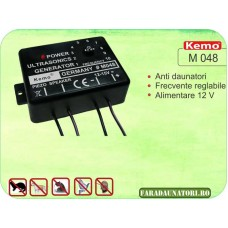 Generator ultrasunete 12-15V Kemo M048