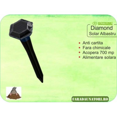 Anti cartita (700 mp) Isotronic Diamond Solar Albastru