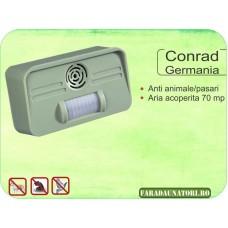 Dispozitiv pentru alungarea cainilor si pisicilor (70 mp) Conrad