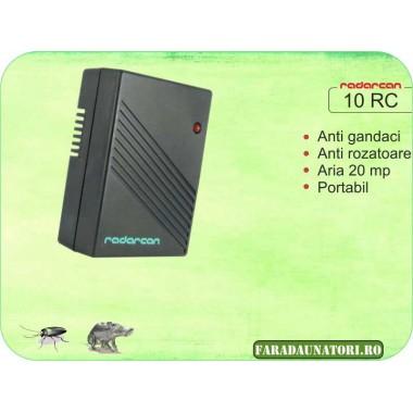 Aparat portabil cu ultrasunete impotriva soarecilor si gandacilor (20 mp) - Radarcan 10RC
