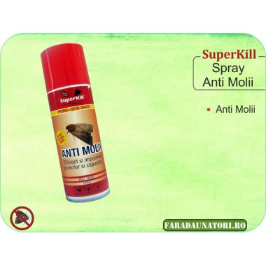 Spray SuperKill anti-molii 200ml