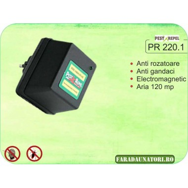Aparat de protectie contra daunatorilor cu unde electromagnetice (120 mp) PR 220.1