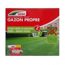 NPK 9-3-6 DCM 3kg pentru gazon fertilizat peluza+erbicid (2in1)