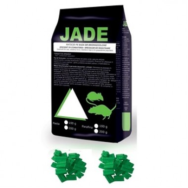 Momeala raticida baton cerat Jade (200gr) verde