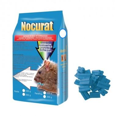 Momeala raticida baton cerat Nocurat (200gr) albastru