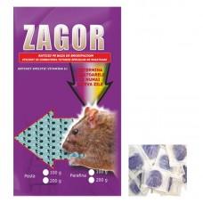 Momeala raticida pasta Zagor (200gr) mov