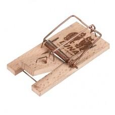 Capcana mecanica pentru soareci din lemn Luna 2buc.
