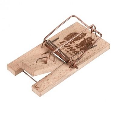 Capcana mecanica pentru soareci si sobolani din lemn Luna