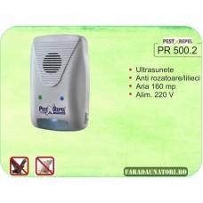 Aparat cu ultrasunete antirozatoare, gandaci, lilieci  PR-500.2
