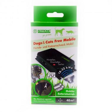 Aparat portabil cu ultrasunete pentru alungarea insectelor, cainilor si pisicilor Free Mobile 70626