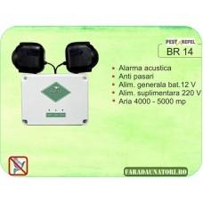 Dispozitiv electronic impotriva pasarilor daunatoare (4000 - 5000 mp) BR14