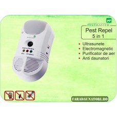 Aparat anti daunatori si purificator de aer (450 mp) Pestmaster 5in1