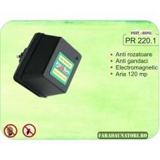 Aparat de protectie contra daunatorilor cu unde electromagnetice PR 220.1