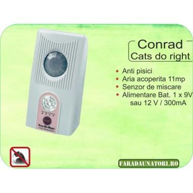 Dresor de pisici (11 mp) Conrad Cats Do Right