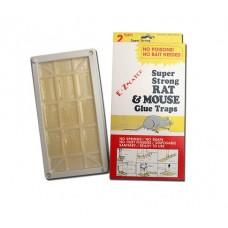 Glue Rat Trap capcana cu lipici si atractant pentru capturarea rozatoarelor 2buc.