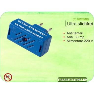 Aparat cu ultrasunete contra tantarilor (30 mp) Isotronic Ultra
