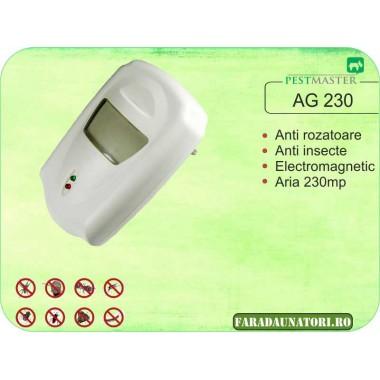 Aparat antigandaci si antirozatoare cu unde electromagnetice Pestmaster AG 230 (230 mp)