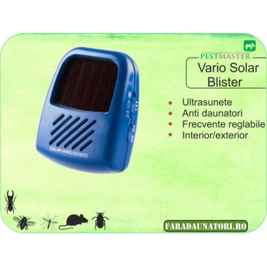 Aparat impotriva daunatorilor cu frecvente reglabile Pestmaster Vario Schutz Solar