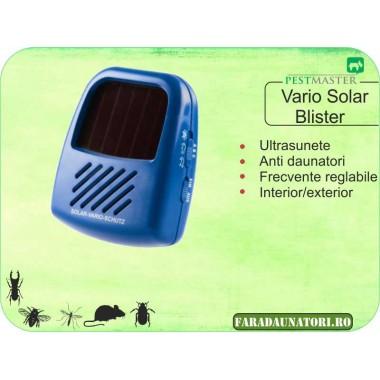 Aparat anti soareci, sobolani si alti daunatori cu frecventa reglabila Pestmaster Vario Blister Solar