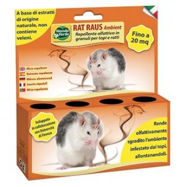 RAT RAUS Ambient repelent olfactiv granule impotriva rozatoarelor