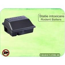 Statie de intoxicare pentru sobolani din plastic - Rodent Baiters