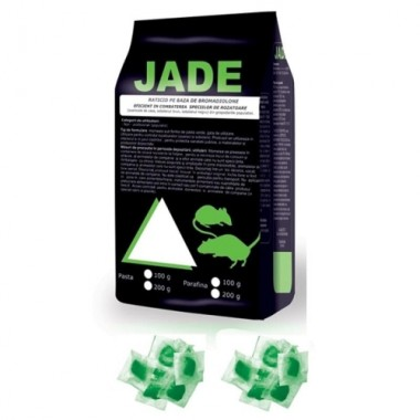Momeala raticida pasta Jade (200gr) verde