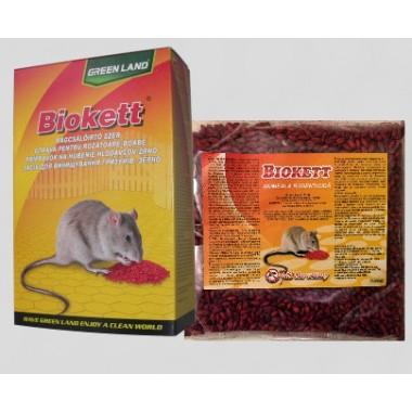 Biokett Pak grau raticid pentru rozatoare 200gr