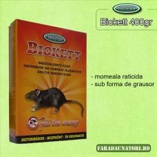 Biokett grau raticid pentru rozatoare 400gr.