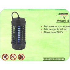 Aparat anti insecte muste tantari Fly Away 4 (40 mp)
