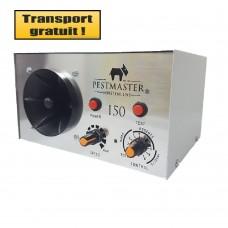Dispozitiv industrial cu ultrasunete anti rozatoare, anti pasari, anti insecte - Pestmaster I50 (500mp)