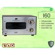 Aparat industrial cu ultrasunete anti rozatoare, anti pasari, anti insecte - Pestmaster I60 (660mp)