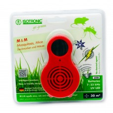 Aparat portabil cu UV( anti tantari, muste, purici, musculite de otet) si ultrasunete( anti soareci, sobolani) Isotronic M&M 77010 30mp