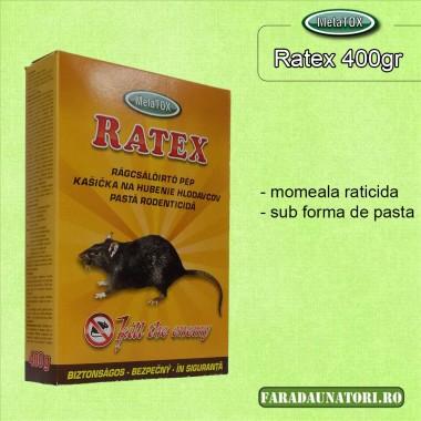Momeala raticida proaspata Ratex Pasta 400gr.