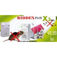 Aparat anti soareci, sobolani, gandaci de bucatarie Riddex Plus (pachet promo 2 buc.)