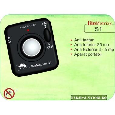 Aparat anti-tantari portabil - BioMetrixx S1