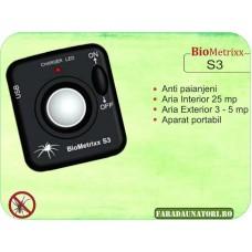 Aparat anti paianjeni Biometrixx S3