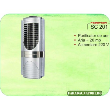 Purificator de aer domestic Radarcan SC201 (20mp)