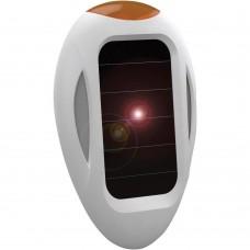 Dispozitiv portabil cu ultrasunete si alimentare solara anti pisici caini  tantari si purici SpaceDog 70550 8m exterior, 30mp interior