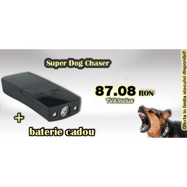 Dispozitiv portabil impotriva cainilor (12 mp) Pestmaster Super dogchaser
