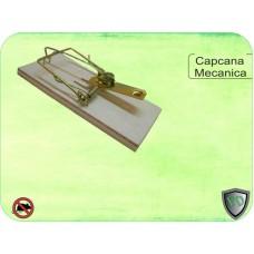 Capcana mecanica pentru soareci din lemn Basic Trap 2buc.