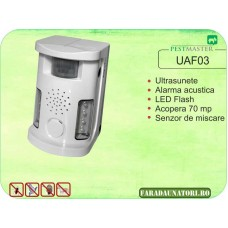 Bird Ultrasound Repeller (antipasari, antirozatoare, antianimale) (70 mp ) Pestmaster UAF03