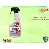 Spray pentru inlaturarea mirosului de soareci, sobolani si alte rozatoare - Kemo Z101